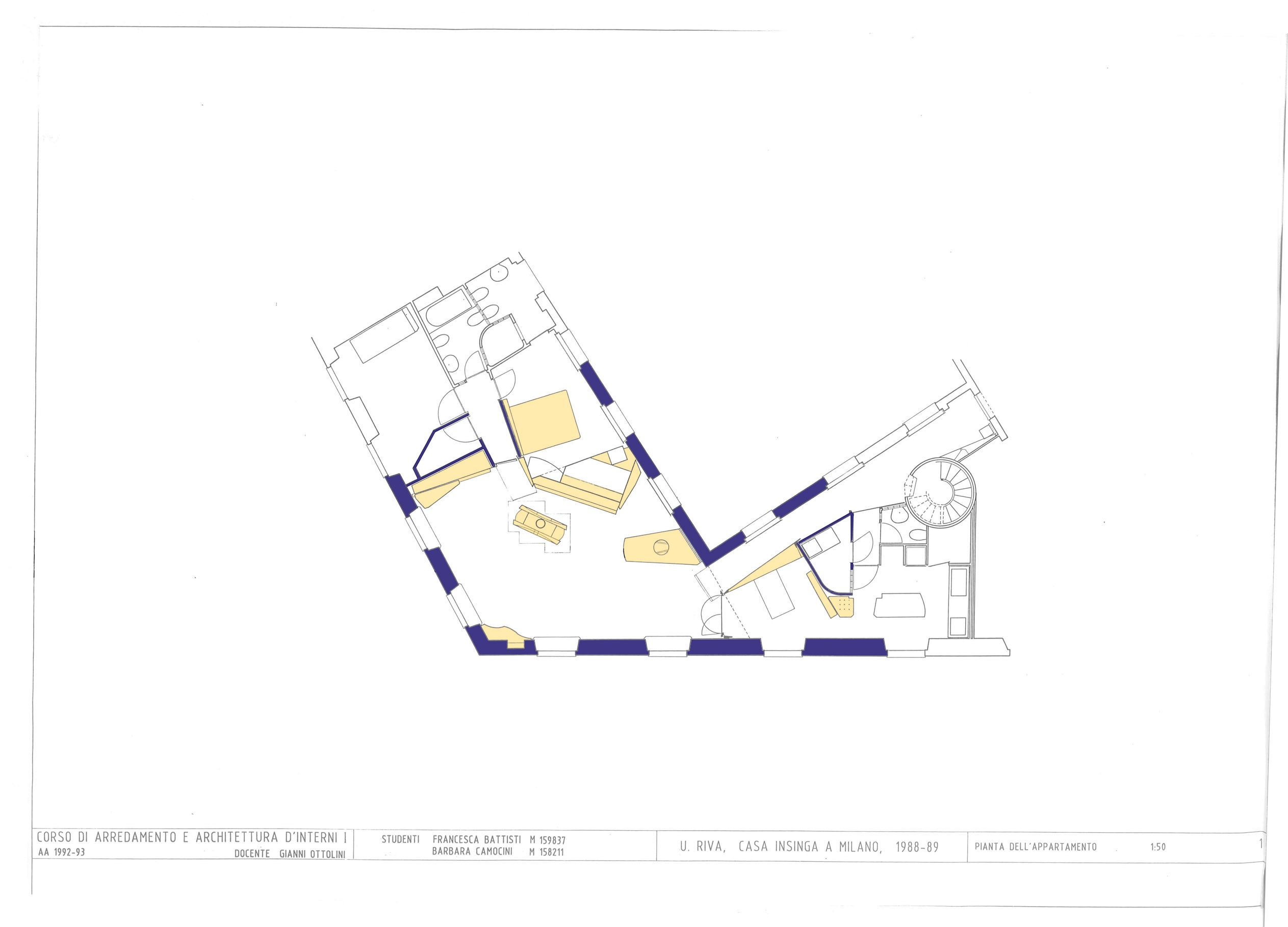 Villa Scheu Vienna Adolf Loos 39inhabited39 Plan Rep Plan