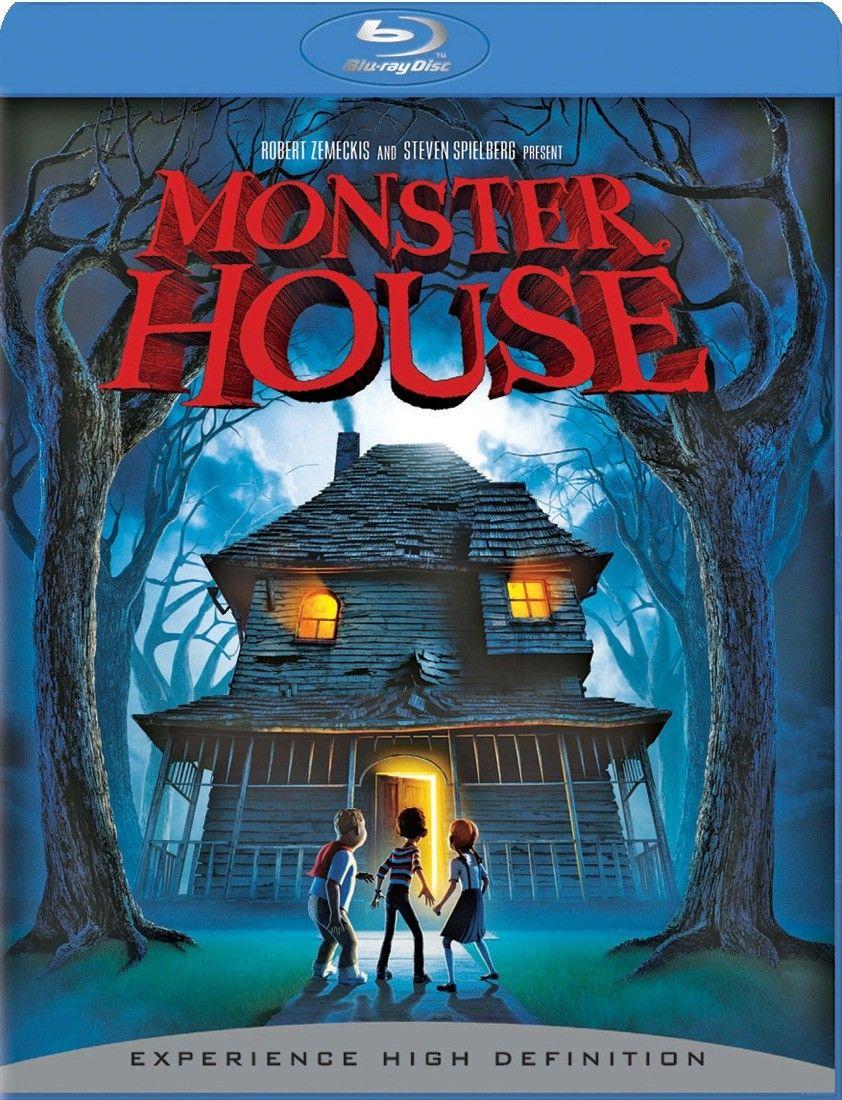 Monster House Bluray Fantastic computeranimated