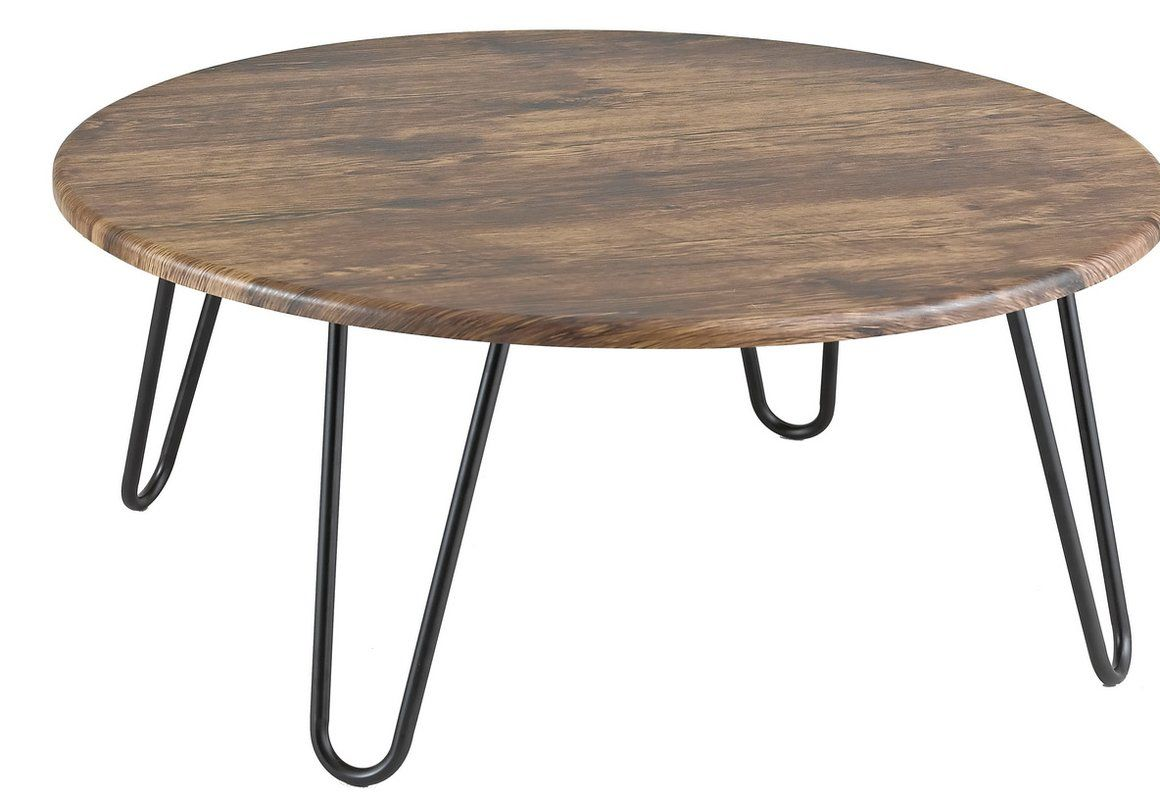 Alvis Coffee Table Retro Coffee Tables Round Wood Coffee Table