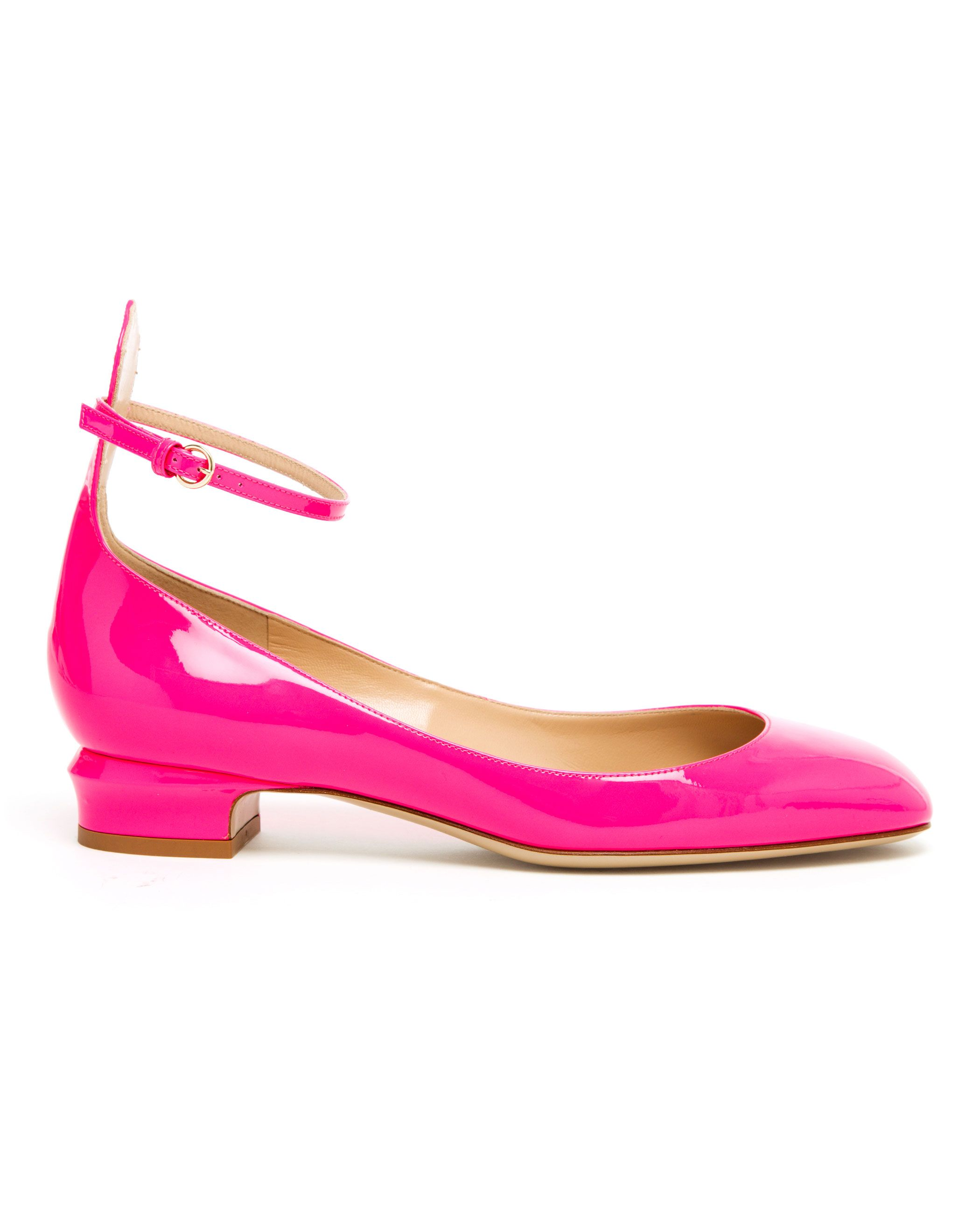 410605cfc27e Valentino Tango Patent Leather Mary Jane Pumps in Pink