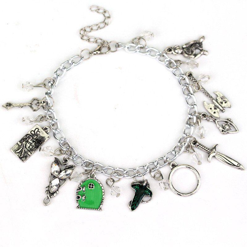 Avengers Charm Bracelet Bangle Doctor Who Horcrux Walking Dead Star Wars Supernatural Legend Of Zelda Game Of Thrones Bracelet Jewelry & Accessories