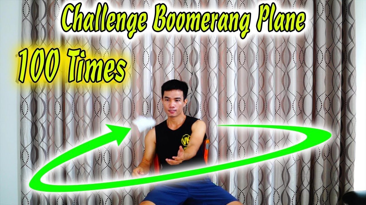The Challenge of Throwing Boomerang Aircraft Continuously