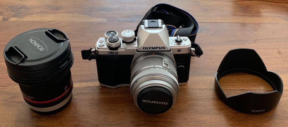 Olympus Om D E M10 Mark Ii W Kit Lens Rokinon 12mm F2 0 Lens Extras Photography Gear Photography Gear Accessories Photography Bags