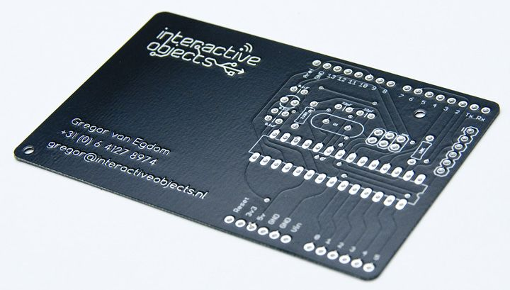 Introducing The Businesscarduino World S Most Versatile Business Card Printing Business Cards Business Cards Creative Business Cards Layout