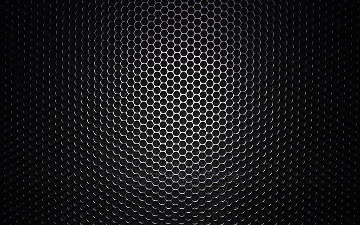 Download Wallpapers 4k Metal Grid Dark Metal Grid Pattern Gray Background Metal Background Metal Texture Besthqwallpapers Com In 2020 Metal Background Grey Wallpaper Iphone Texture Background Hd