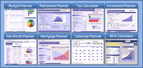 HttpWwwSimpleplanningNetFinancial CalculatorsBudgetplanner