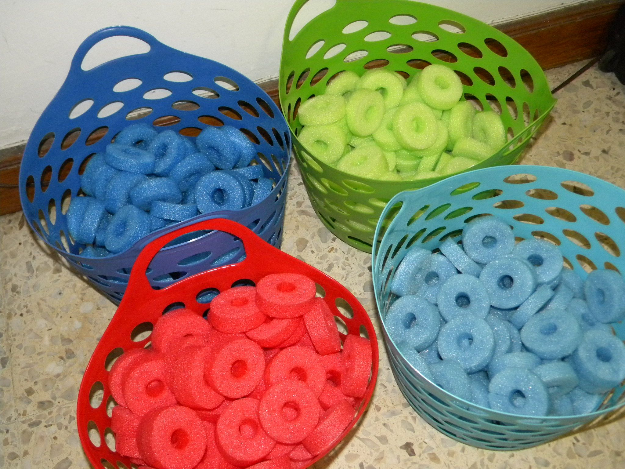 Pool Noodles Classify Colors Links Patterns And Fun