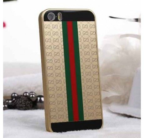 New Arrival Real Gucci iPhone 6 Cases - iPhone 6 Plus Cases - Designer Polished Cover Golden - Free Shipping - Chanel & Louis Vuitton Authorized Store