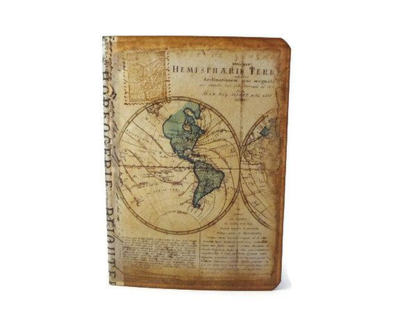 Travel journal old world map mini vintage inspired by istriadesign travel journal old world map mini vintage inspired by istriadesign 600 gumiabroncs Gallery