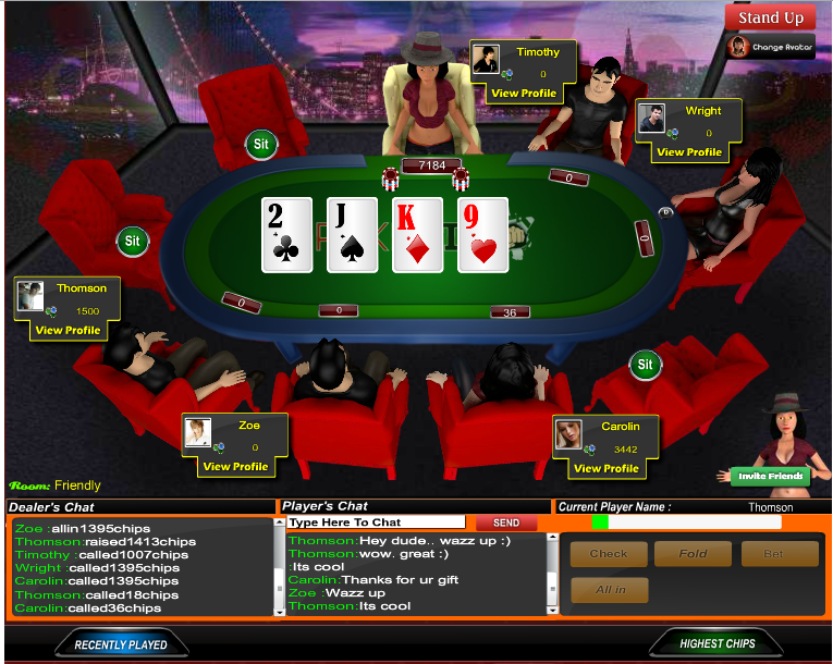 New online Poker over 1 million people were in online