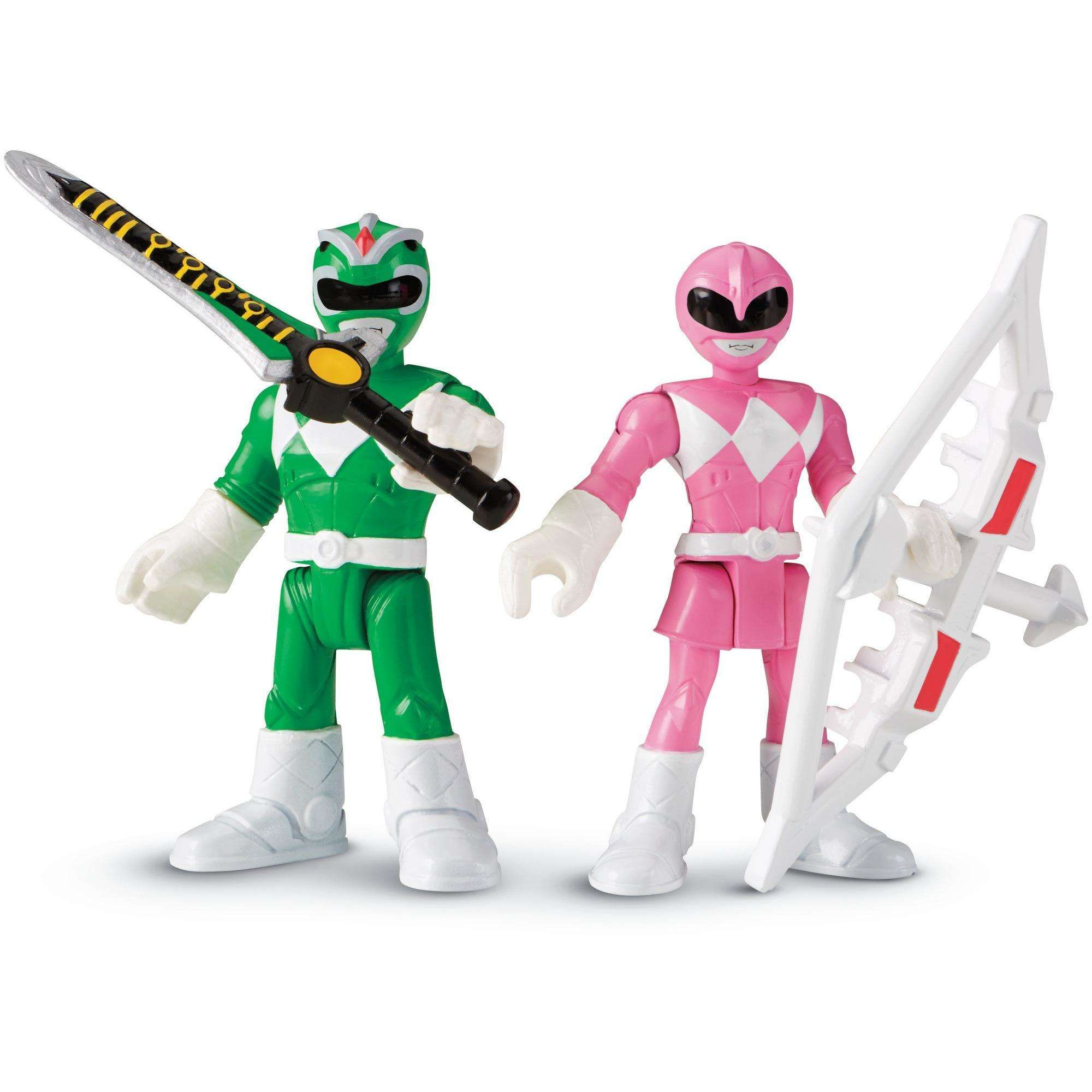 """Fisher-Price Imaginext Power Rangers Blue Ranger from Mighty Morphin figure 2.5/"""""""