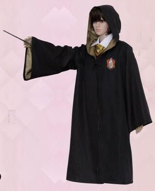 Harry Potter Robe Cloak Cape Vest TieGryffindor//Slytherin//Hufflepuff//Ravenclaw