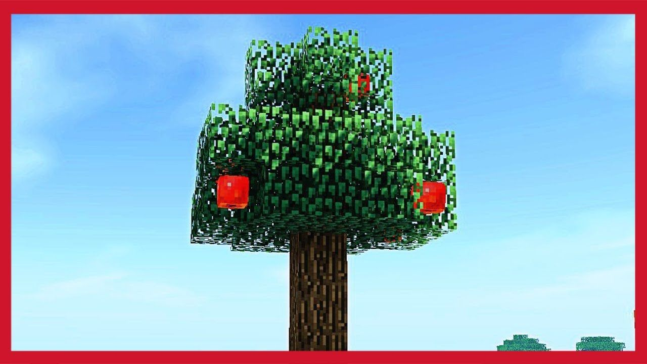 Come Fare Camino Su Minecraft Minecraft Come Fare Un Albero Di Mele Tutorial Minecraft