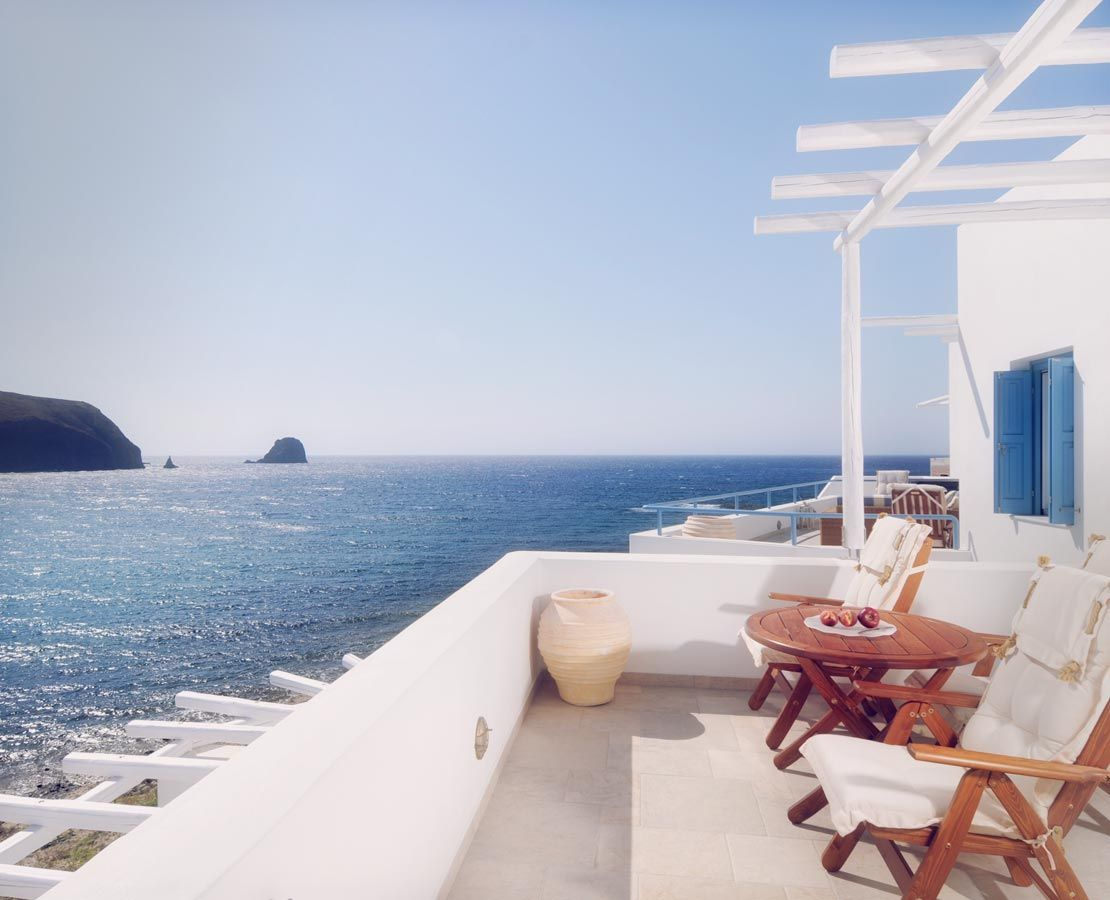 Melian Boutique Hotel Spa Offers Some Of The Finest Milos Accommodation In Pollonia With Sea View Suites One Best Luxury Hotels