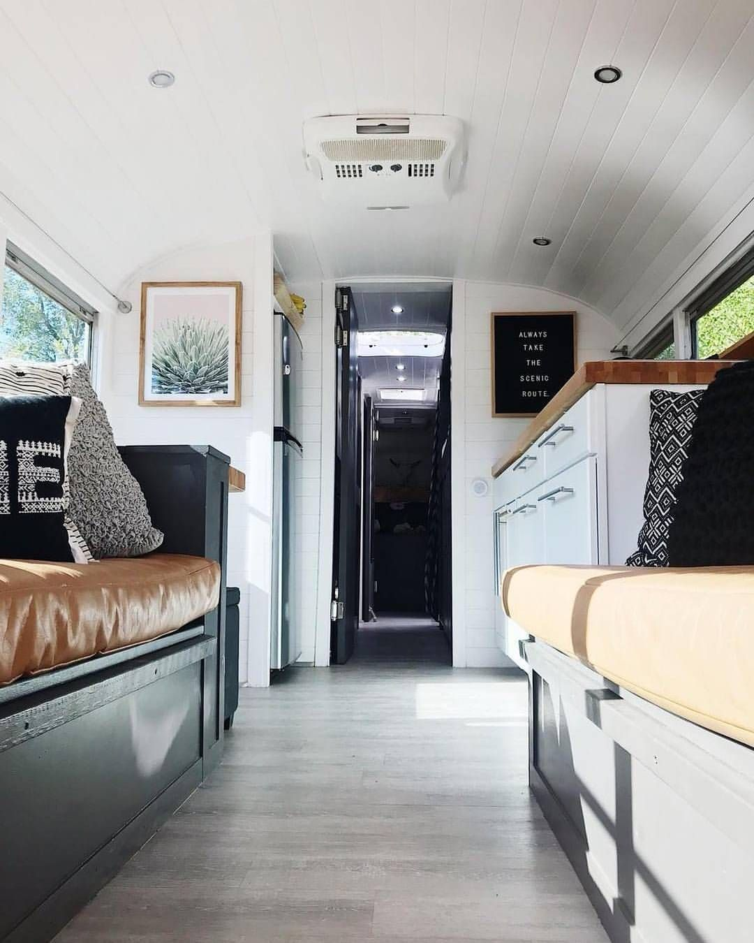School Bus Conversion RV