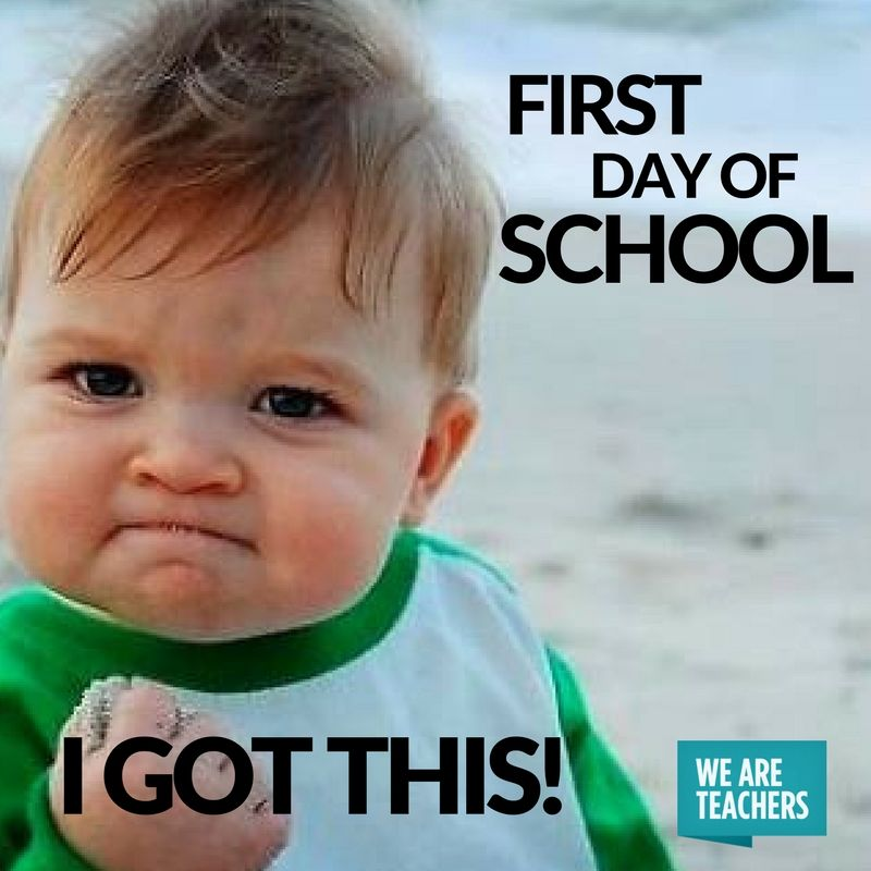 30 Back To School Memes For Teachers That Will Have You Saying Same Success Kid Funny Baby Memes Funny Kids