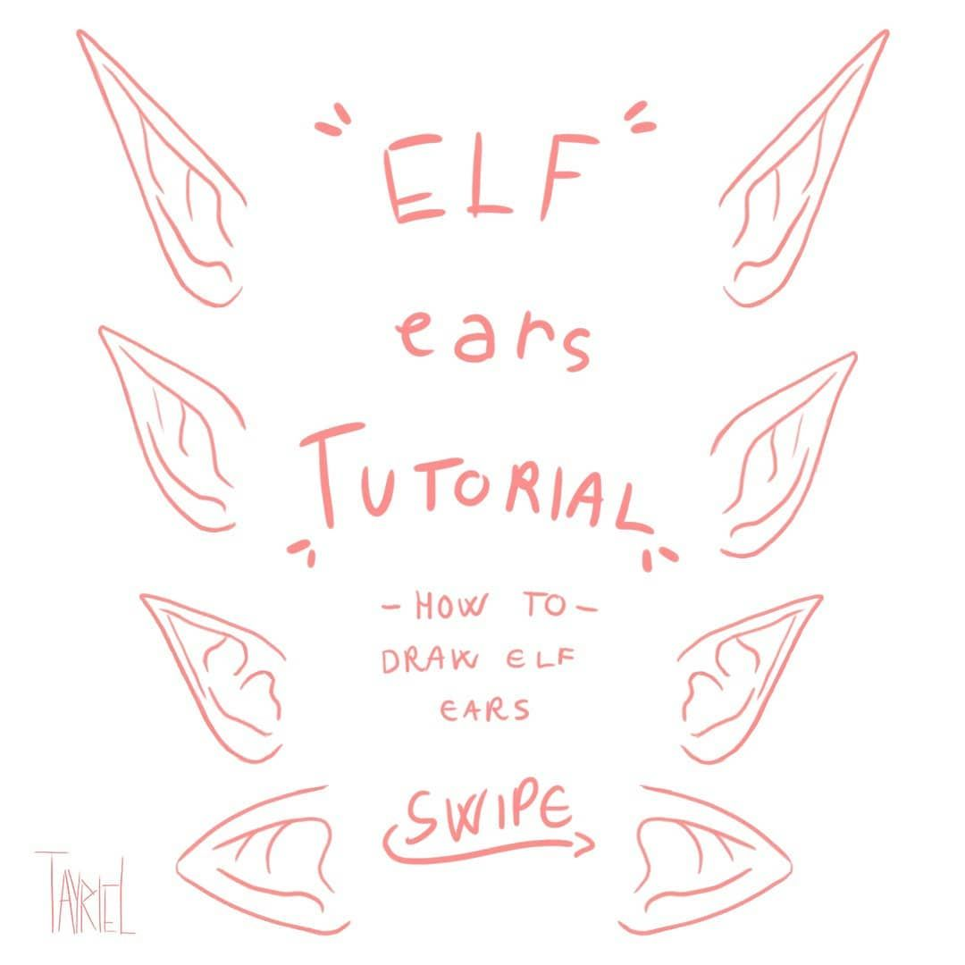 Tutorial Day Here It Is The Promised Elf Ears Tutorial I Hope You Like It Tell Me What Kind Of Elf Ears Do You Prefer S In 2020 Elf