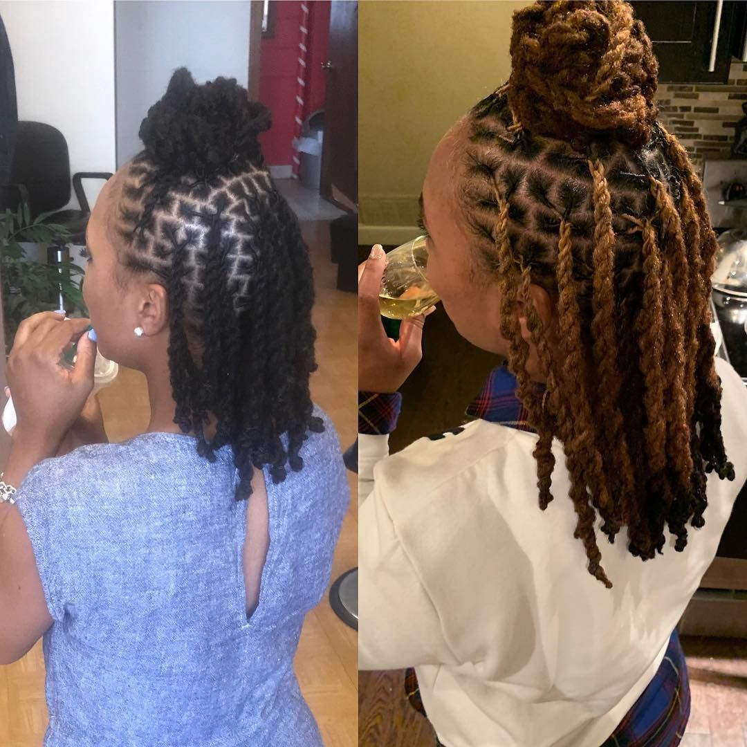 Image May Contain One Or More People And People Standing Short Locs Hairstyles Locs Hairstyles Dreadlock Hairstyles Black