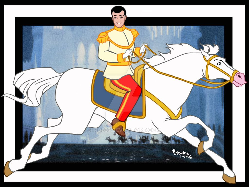 Prince Charming (Horses by Rob32 @deviantART) #Cinderella ...