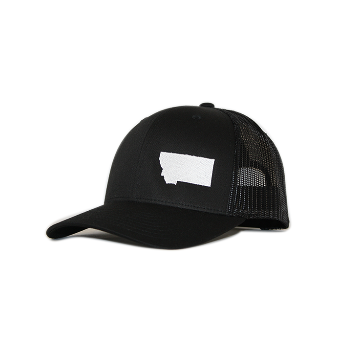 Granite Montana Hat - Black / White - Magenta | 406 hats | Hats