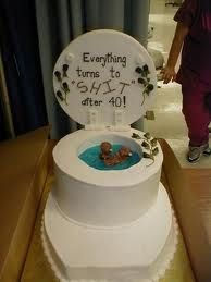 HAHAHA This Is Too Funny 40th Birthday Cake Ideas For Men