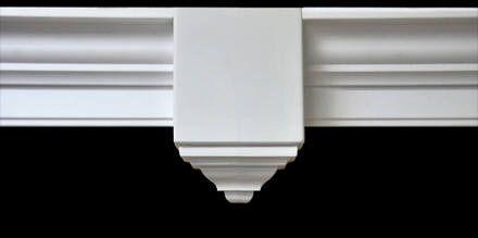 Creative Crown Flat Center Crown Molding Corner Block Crown Molding Moulding Blocks Grey Paint Colors
