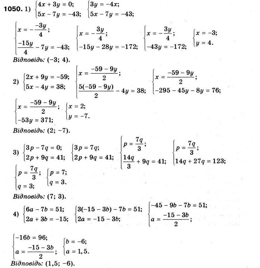 Гдз (відповіді, решебник) алгебра 7 клас істер 2015.