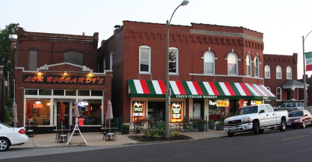The Hill The Best Italian Restaurants In Stl Are Located
