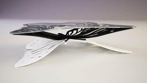 Butterfly Coffee Table By Svilen Gamolov