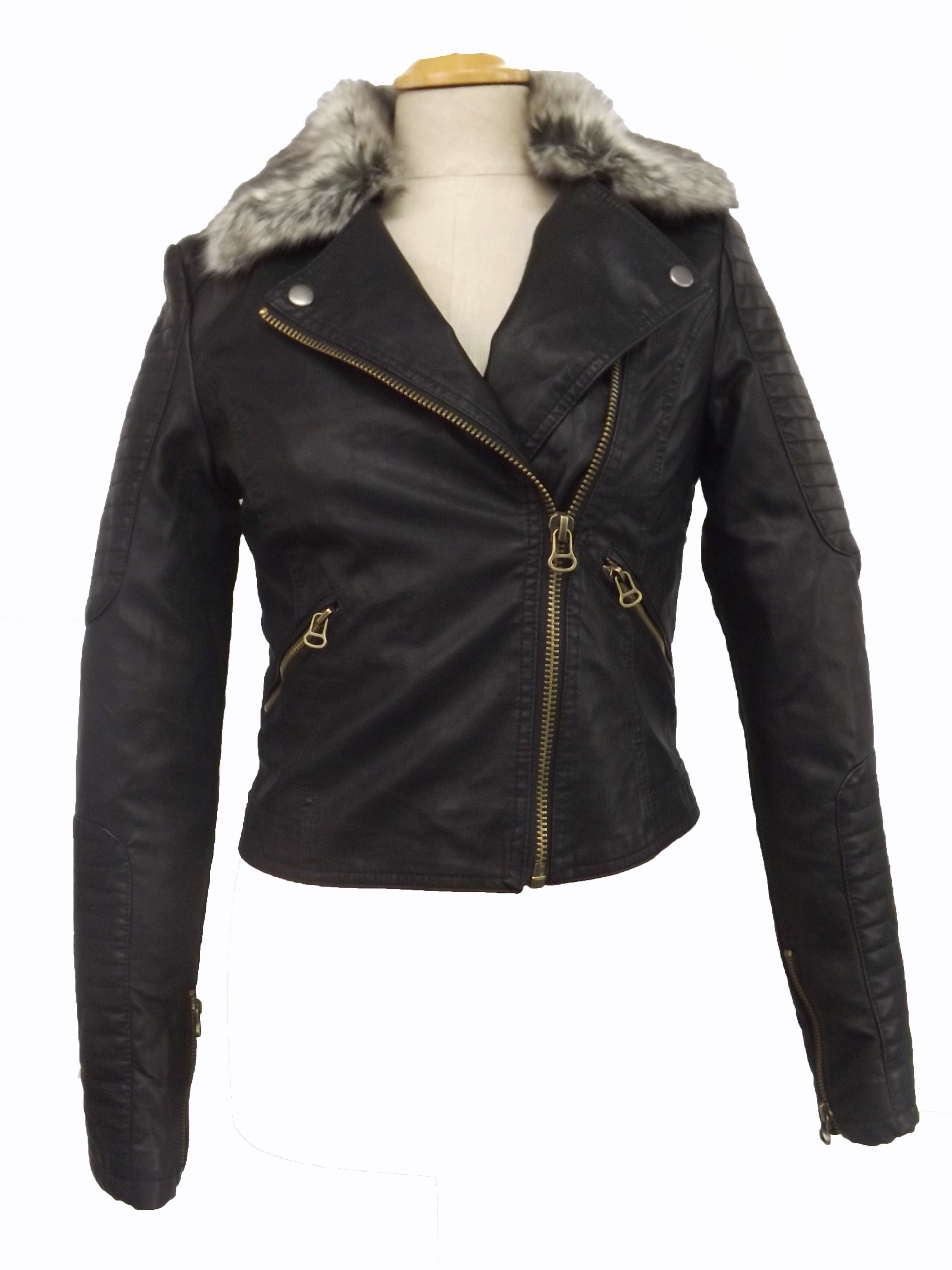 Zara Womens Faux Leather Jacket You Can Purchase It On Www