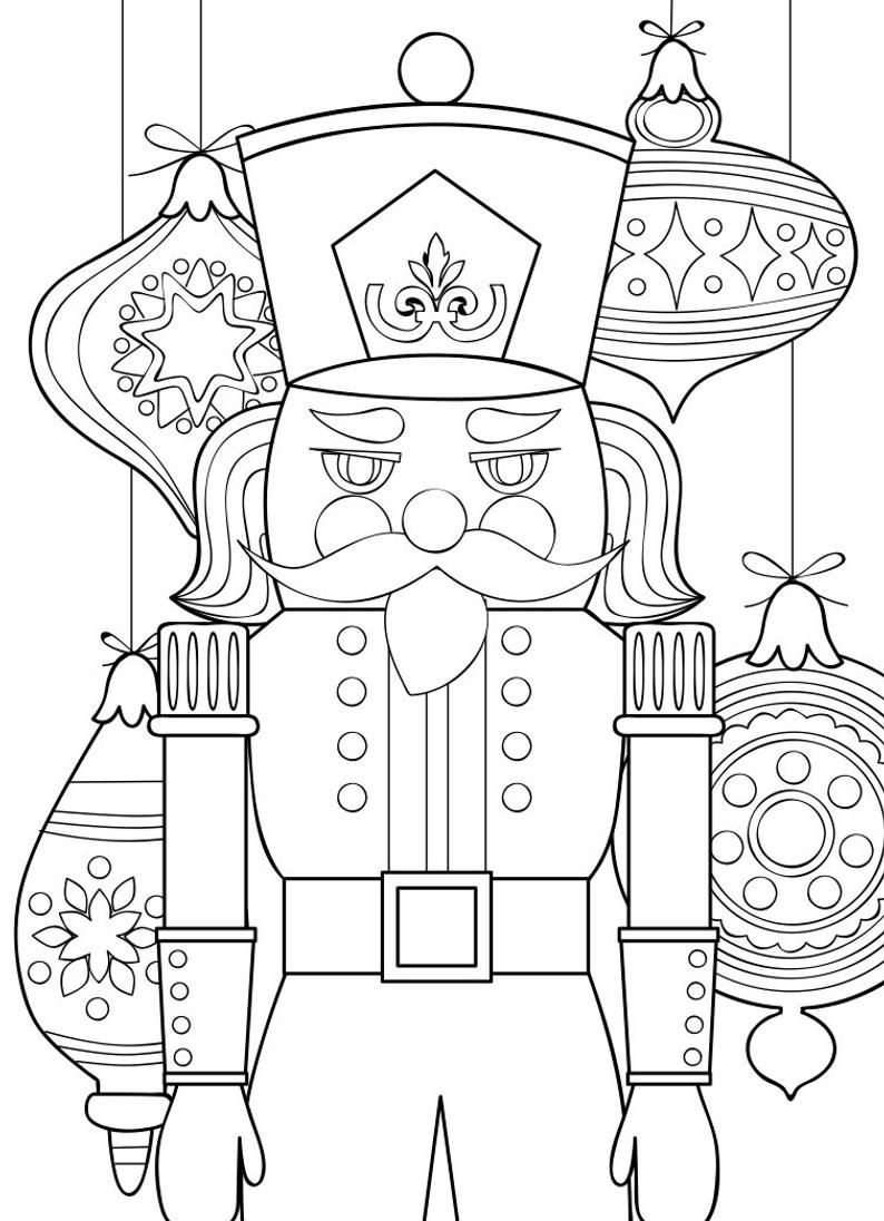 Nutcracker Coloring Pages 5 Printable Nutcracker Coloring