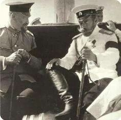 Tsar Nicholas ll of Russia and Dr Botkin.A♥W