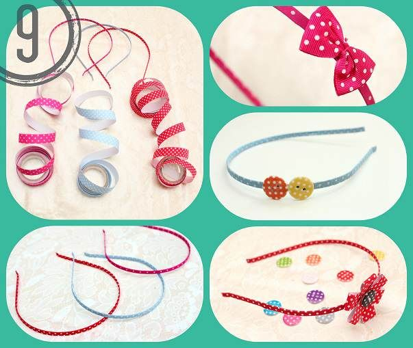 DIY-Tutorial - Diademas con Fabric Tape - Blog de Material para Manualidades #fabrictape