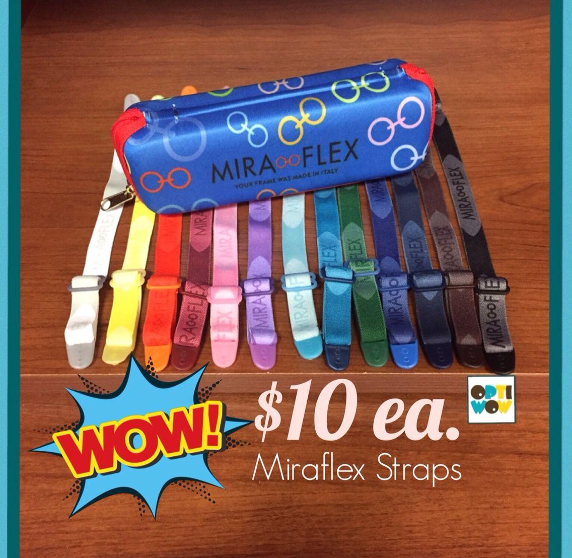 Original Miraflex Straps! All Colors Available!www.optiwow.com ...