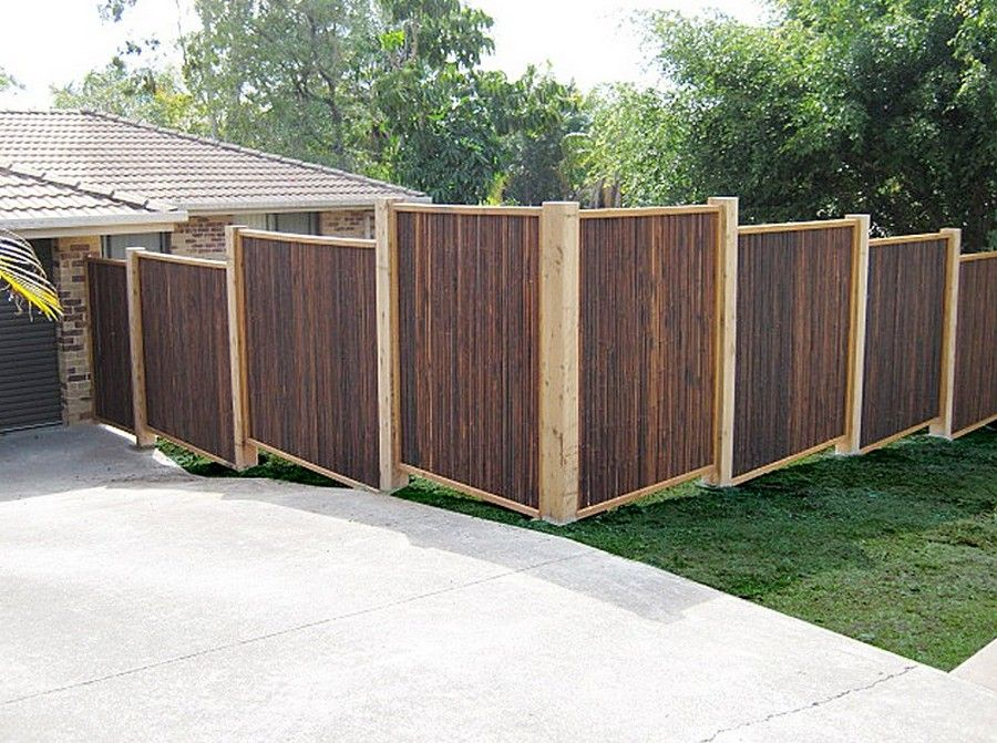 Attractive Wood Fence Panels Home Depot Design Idea And Decor Bamboo Fence Bamboo Garden Fences Wood Fence