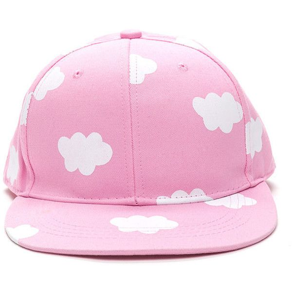 Head In The Clouds Snapback Cap LTPINK (Final Sale) (13 BRL) ❤ liked on Polyvore featuring accessories, hats, accessories - hats, pink, stitch hat, snapback hats, faux-fur hat, cap hats and snap back hats