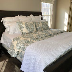 Gray Lucianna Medallion Percale Patterned Duvet Cover