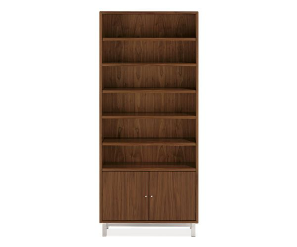 Copenhagen Modern Bookcases With Doors Drawers Modern