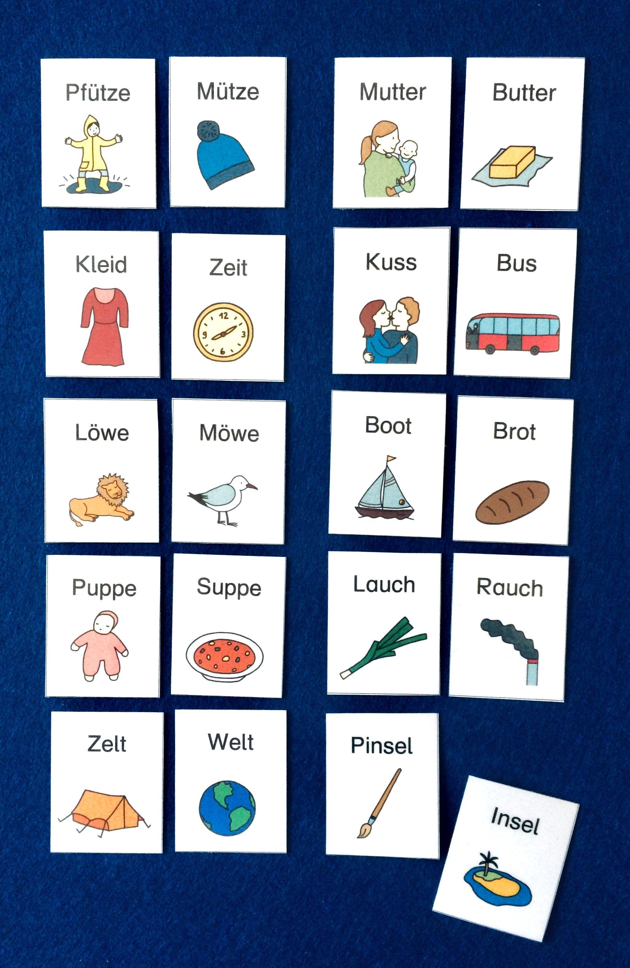 reimwörter  reimwörter deutsch lernen kinder