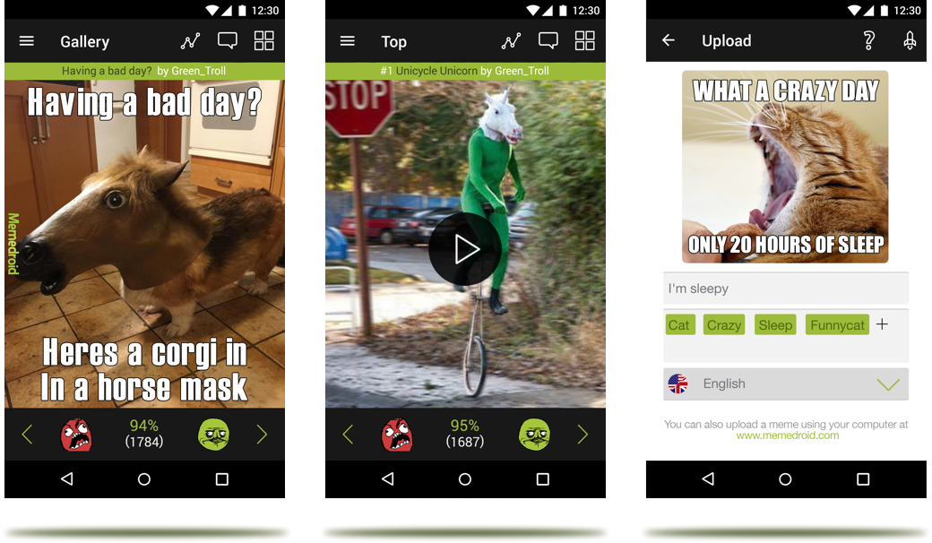 Memedroid The Best Memes App For Android And Ios Meme Generator Free App Best Memes Memes Free Apps