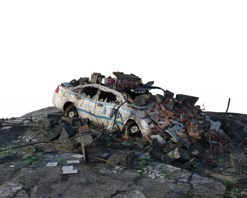 Free Png Urban Ruins Police Car By Https Www Deviantart Com Artreferencesource On Deviantart Ruins Police Cars Png