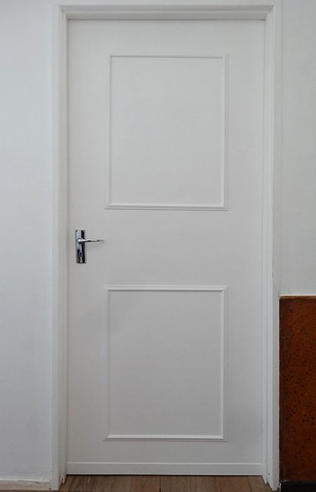 transform plain hollow-core doors into a feature using inexpensive pine moulding - In this DIY project weu0027ll show you how easy it is to transform plain ... : plain doors - Pezcame.Com