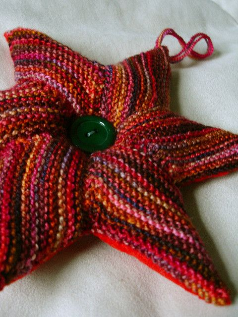 Star Cushion Pattern - by Annette Maass - Free on Ravelry ...