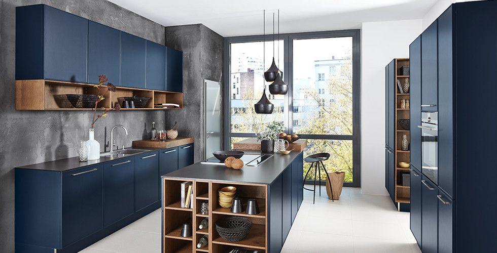 Bildergebnis für dieter knoll küche blau Kitchen ideas Pinterest - Nolte Küchen Fronten Farben