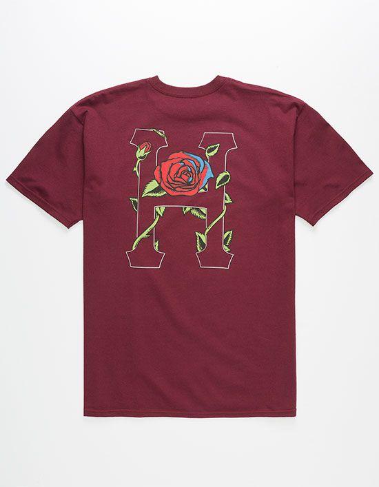 HUF Roses Mens T-Shirt  3f4baf3a8a12