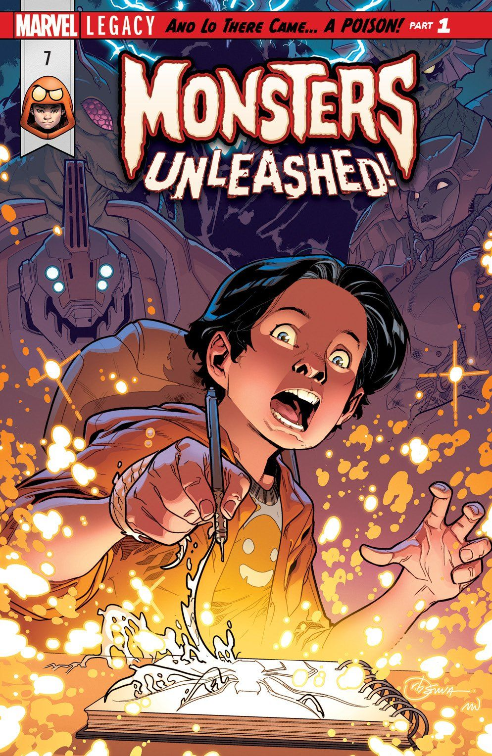 Monsters Unleashed #7 Legacy