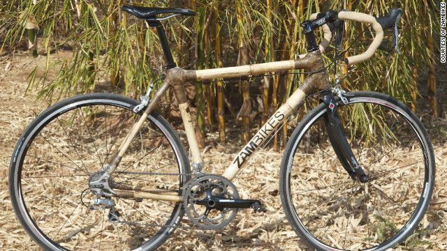 Made In Africa Bamboo Bikes Put Zambian Business On Right Track