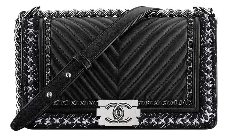f417008b8d0491 Chanel Fall Winter 2017 Classic And Boy Bag Collection Act 2 ...