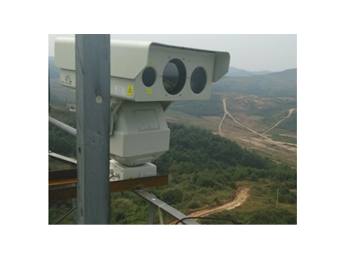Border Surveillance Infrared System With 10km Detection Thermal And 3km Nir Laser Illuminator Night Vision Thermal Imaging Security Camera