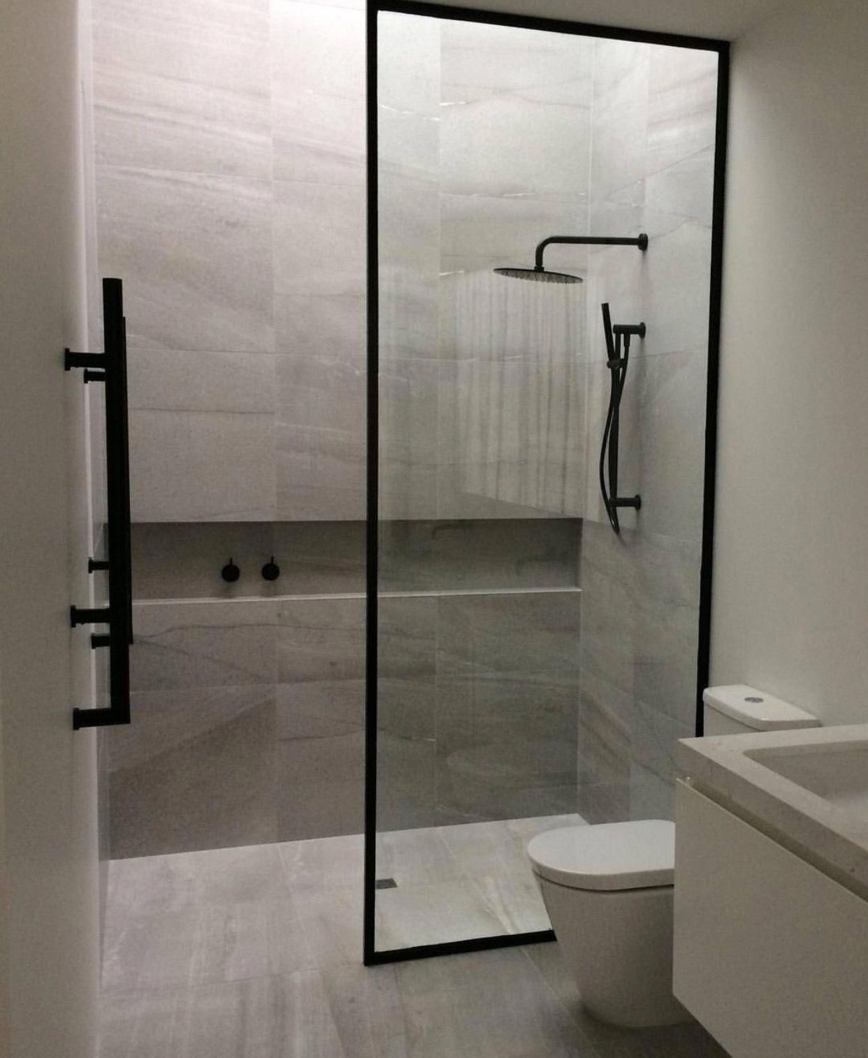 Frameless Glass Shower Doors Have Actually Risen In Popularity In Current Years As House Owners Develop A Tas Amazing Bathrooms Bathroom Design Modern Bathroom